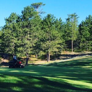 Golf Up North NMU Golf Course Mowing